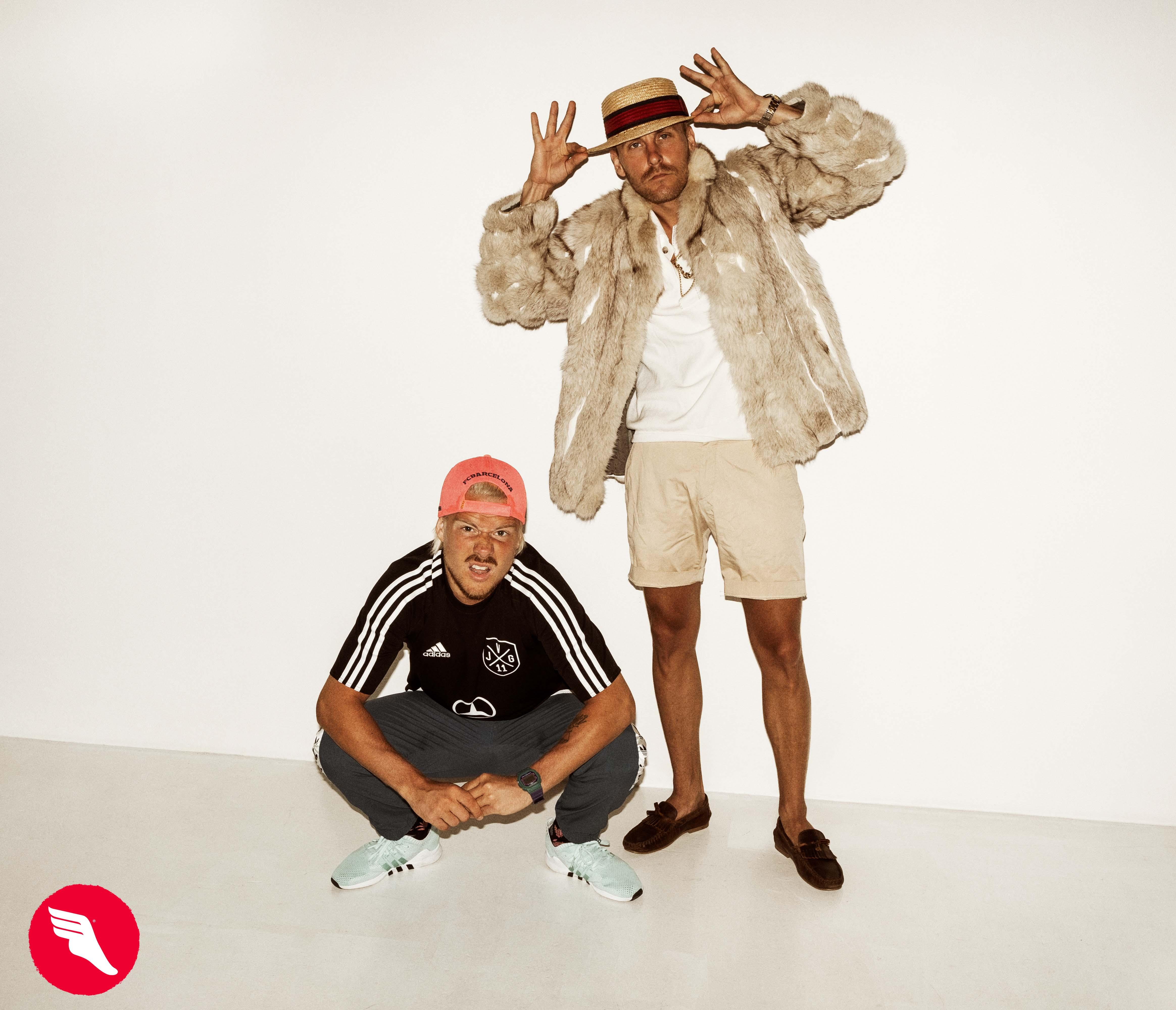 Adidas ja JVG yhdistivät voimansa hyvän puolesta – tuloksena syntyi Velipaita